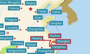 shanghai trip map_inpixio